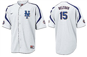 Carlos Beltran New York Mets MLB Tackle Twill Embroidered Baseball Jersey By Nike Team Sports