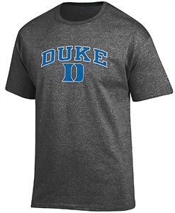 Duke Blue Devils Granite Heather Champion Campus Short Sleeve Tee Shirt