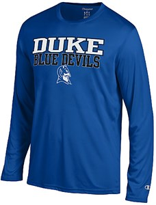 Duke Blue Devils Royal Vapor Dry Champion Powertrain Long Sleeve T-Shirt