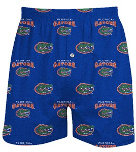 Florida Gators Mens Supreme Royal Boxer Shorts