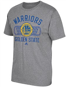 Golden State Warriors Mens Slimmer Fit Grey Athletic Dept Blended T Shirt