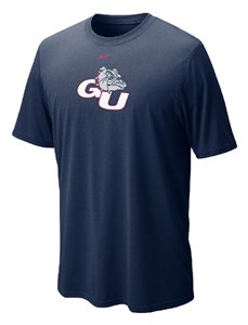 Gonzaga Legend Dri Fit Top by Nike