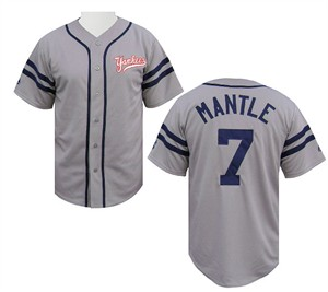 Mickey Mantle Cooperstown Heater Jersey by Majestic