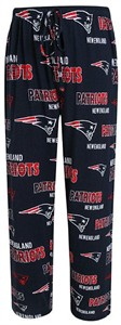 New England Patriots Mens Navy Sweep Pajama Pants by Concepts Sports