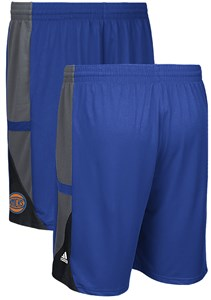 New York Knicks Blue Core 3 Climalite Adidas Performance Shorts