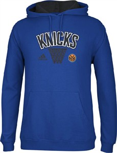 New York Knicks NBA 13 Embroidered Playbook Hoodie Sweatshirt by Adidas