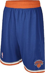 New York Knicks Youth Swingman Embroidered NBA Replica Basketball Shorts By Adidas