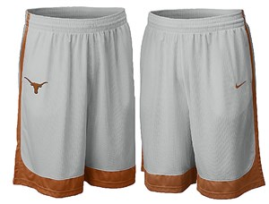 Nike Texas Longhorns 2008/09 NikeFIT Basketball Training Shorts