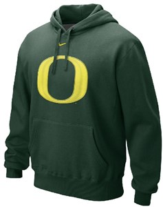 Oregon Ducks Youth College Logo Hooded Sweatshirt by Nike
