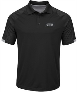 San Antonio Spurs Black Excitement Synthetic Polo Shirt
