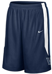 "Villanova Wildcats Blue 12"" Inseam Embroidered Player Basketball Short By Nike"