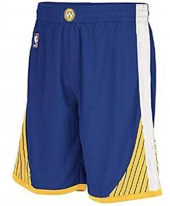 Youth Golden State Warriors New Blue Replica Basketball Shorts by Outer Stuff