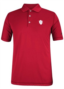 adidas Indiana Hoosiers 4th Quarter Pure Motion Performance Golf Shirt