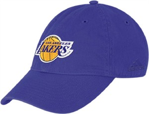 9ffaf09c181 Adidas Los Angeles Lakers Basic Logo Unstructured Adjustable Cap ...