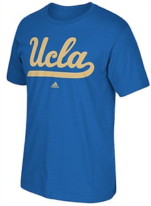 Adidas UCLA Bruins Bright Royal Synthetic Huge Preferred Logo Climalite T Shirt