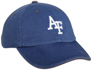Air Force Falcons Royal Crew Relaxed Crown Crew Adjustable Hat on Sale