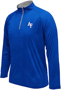 Air Force Falcons Royal Gridlock Pullover Synthetic Windshirt on Sale
