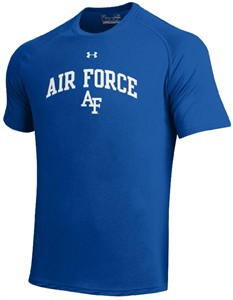 Air Force Falcons Royal Poly Dry HeatGear NuTech Performance Shirt by Under Armour