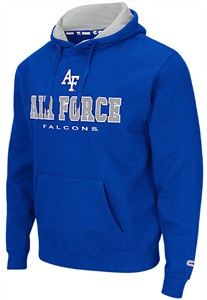 Air Force Falcons Royal Zone 2 Embroidered Hoodie on Sale