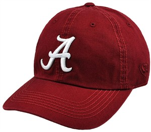 Alabama Crimson Tide Crimson Crew Relaxed Crown Crew Adjustable Hat