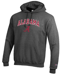 Alabama Crimson Tide Stadium Powerblend Screened Hoodie Sweatshirt by Champion