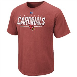Arizona Cardinals Vintage Roster II T Shirt by VF-Pigment Red