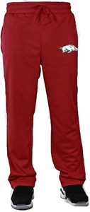 Arkansas Razorbacks Adult Amp Poly Fleece Athletic Pant