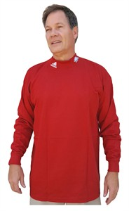 Arkansas Razorbacks Long Sleeve 1st Round Mock by Adidas