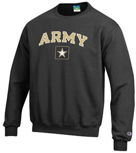 Army Black Knights Stadium Powerblend Screened Crew Sweatshirt by Champion