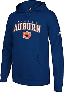 Auburn Tigers Embroidered Playbook II Hooded Sweatshirt by Adidas