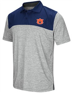 ae450993930 Auburn Tigers Mens Alaska Woven Synthetic Polo Shirt | Auburn Tigers Polo  Shirts