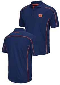 Auburn Tigers Mens Blue Chiliwear Synthetic Overtime Polo Shirt ... f0a41e477