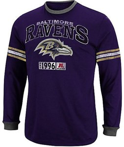 Baltimore Ravens Victory Pride IV Long Sleeve Shirt by Majestic