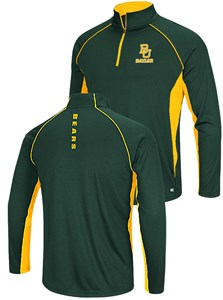 Baylor Bears Airstream Quarter Zip Pullover Synthetic Windshirt