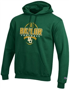 Baylor Bears Men's Football Powerblend  Hoodie Sweatshirt by Champion