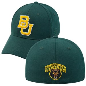 Baylor Bears Green Premium Collection One-Fit Memory Fit Cap