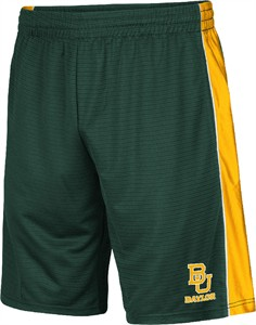 Baylor Bears Mens Green Synthetic Layup 2 Shorts by Colosseum