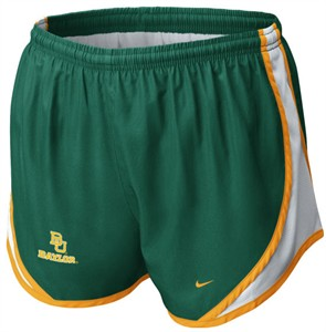 Baylor Bears Womens Tempo Short by Nike