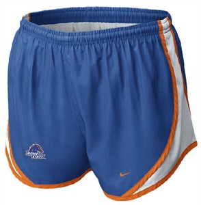 Boise State Broncos Womens Dri-FIT Tempo Running Shorts By Nike