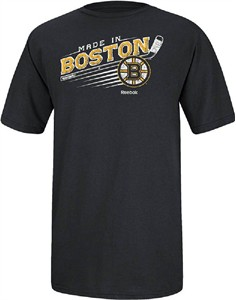 Boston Bruins Made from Scratch NHL Tee Shirt by Reebok