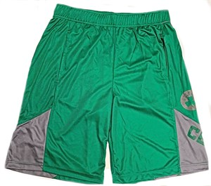 Boston Celtics Green My Favorite Game Synthetic Shorts