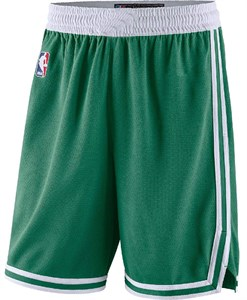 Boys Boston Celtics Green Replica Basketball Shorts by Outer Stuff