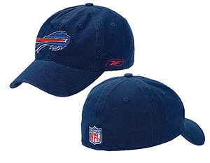 Buffalo Bills NFL Unstructured Stretch Fit Sized Cap By Reebok