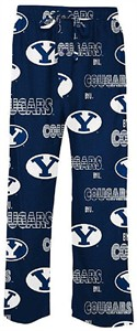 BYU Cougars Men's Blue Sweep Pajama Pants by Concepts Sports