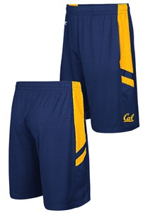 Cal Golden Bears Blue Setter Synthetic College Shorts