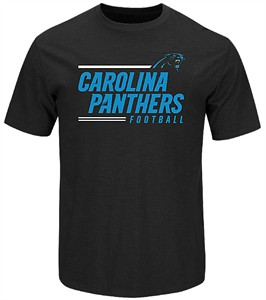 Carolina Panthers Black Line Of Scrimmage Short Sleeve T Shirt