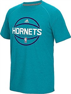 save off dc126 0d1dc Charlotte Hornets Adidas Slimmer Fit On-Court teal Pre-Game ...