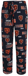 Chicago Bears Mens Blue Sweep Pajama Pants
