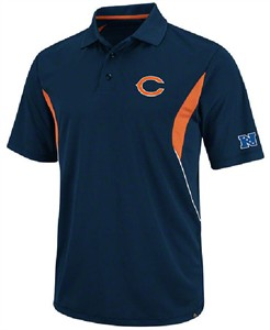 Chicago Bears Mens Field Classic V Polo Shirt by VF