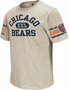 sale retailer 912e1 5324c Chicago Bears Vintage Applique Shirt by Reebok-Grey ...
